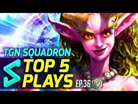 TGN Squadron's Top 5 Plays in Heroes of the Storm | Episode 36