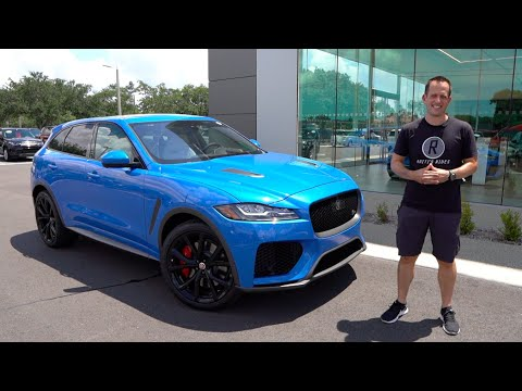 Is The 2020 Jaguar F-Pace SVR An SUV That PERFORMS Like A Sports Car?