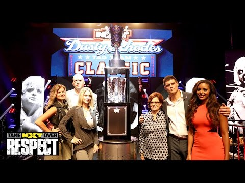 WWE Network: The Rhodes Family Unveils Dusty Rhodes Classic Cup: WWE NXT TakeOver: Respect Pre-Show