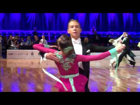 WA 2 WDSF Open Youth ST 1/4F BALTIC CUP 2017
