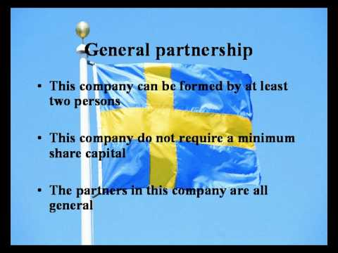 How to establish a company in Sweden