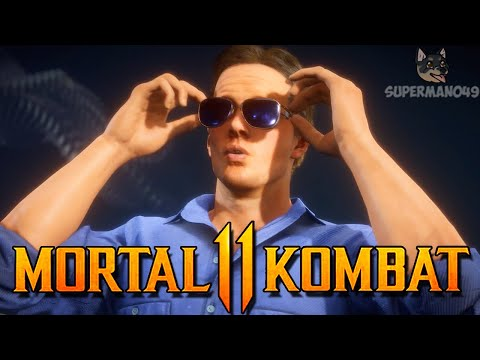"NO ONE PLAYS WITH STUNT DOUBLE - Mortal Kombat 11: ""Johnny Cage"" Gameplay"
