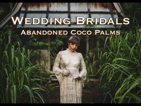 Wedding Bridal Shoot At The Abandoned Coco Palms Resort In Kauai- Dystopia By Jason Lanier