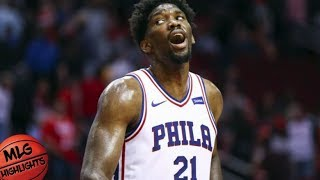Joel Embiid (46 pts, 7 ast, 7 blk) CRAZY Game vs LA Lakers / Week 5 / Sixers vs Lakers