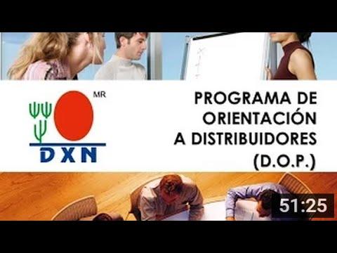 Orientación a Distribuidores Nuevos   Módulos DXN