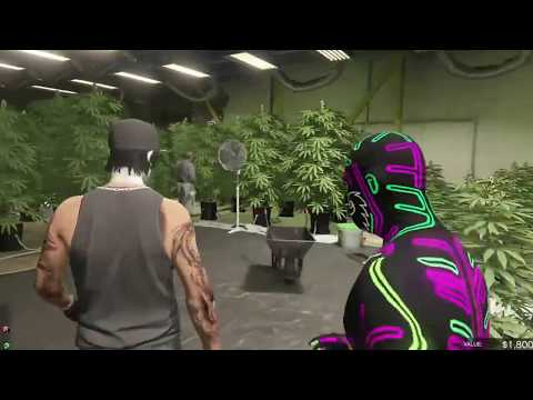 GTA 5 Weed farm part 3