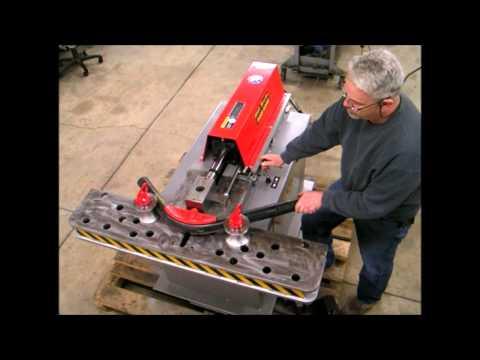 Horizontal Hydraulic Ram Bender