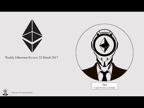 Ethereum Weekly Video Review #1 ( Block reward reduction, Coinbase fees, Alphabay)