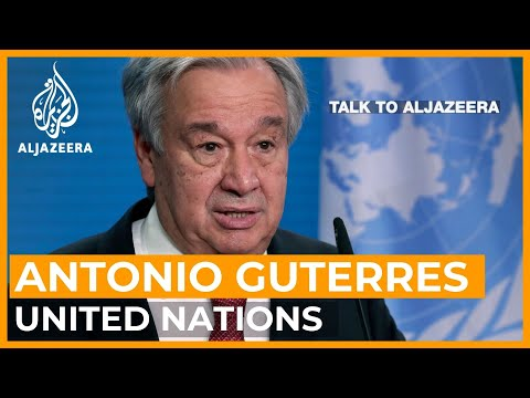 Antonio Guterres on Afghanistan: 'Everything went wrong'   T