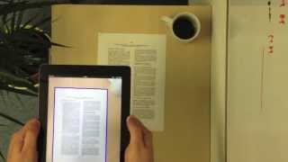 Professional document detection with your smartphone or tablet in real time Thumbnail