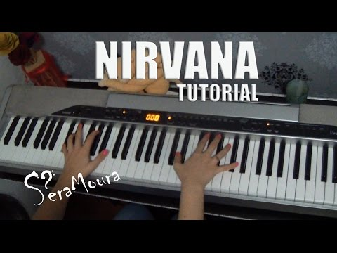 Nirvana - Heart Shaped Box (tutorial/piano)