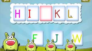 Kids Learning Letters