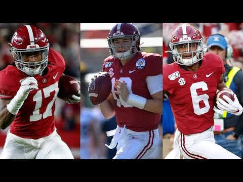 Top Returning Offensive Players For The Alabama Crimson Tide In 2020