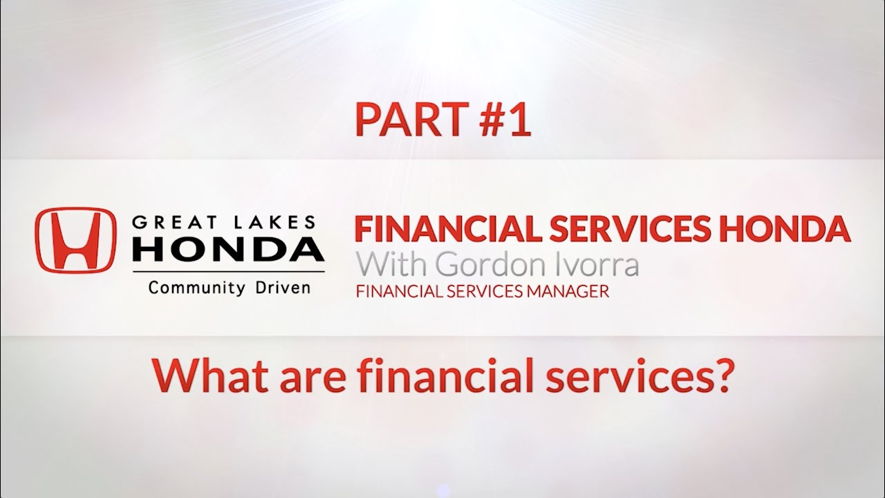 Honda Financial Services Account Management >> Honda Financial Services With Gordon Ivorra Part 1 Youtube