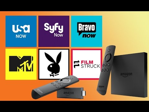 USA, MTV, Playboy, Syfy, Bravo, And More TV Apps Come To Fire TV & Stick - AFTVnewscast 62 Excerpt