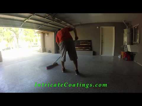 Intricate Coatings How to clean your Epoxy floor