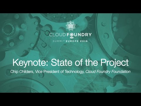 Keynote: State of the Project - Chip Childers, Vice President of Technology
