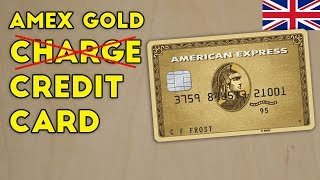 Amex UK Launches Gold CREDIT Card