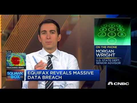 Equifax Data Breach - Anti Terrorism Expert Recommends IDShield on CNBC
