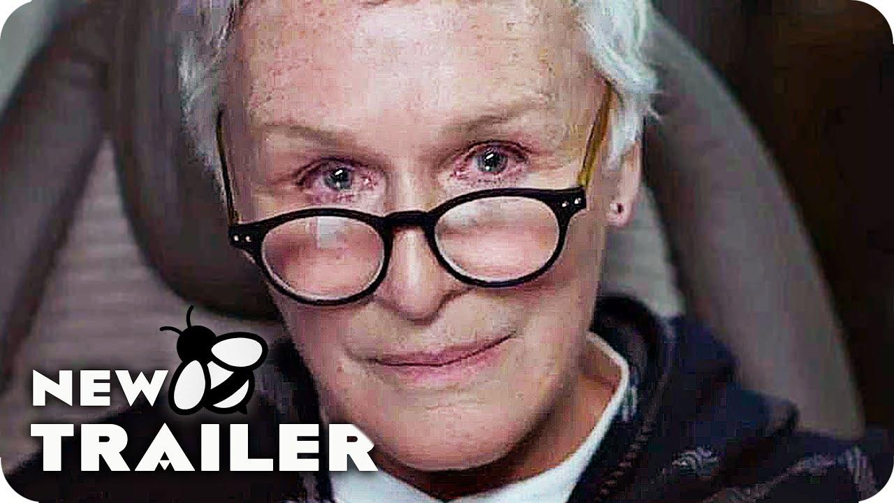 The Wife Trailer 2018 Glenn Close Movie Youtube
