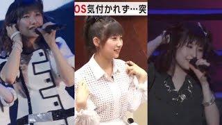 モーニング娘。'16「EMOTION IN MOTION」千秋楽での、まーちゃんのイヤ...