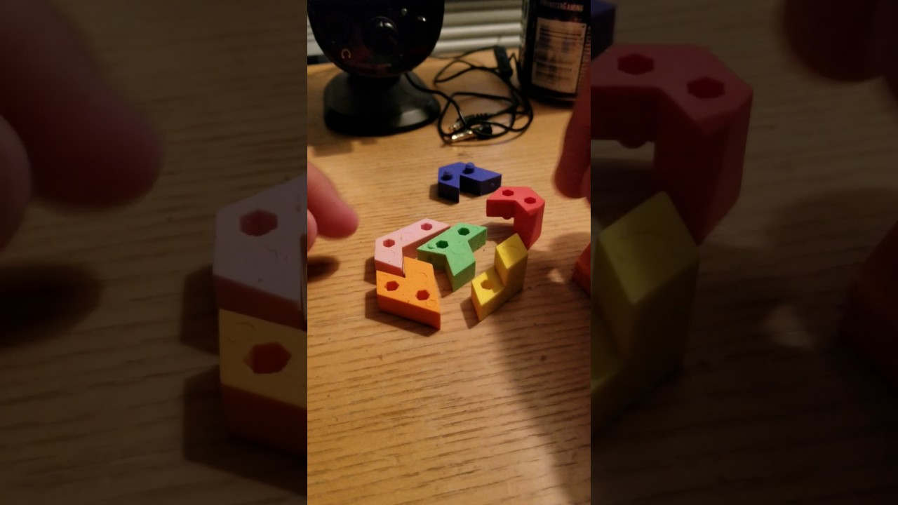 How to solve a Hexagon Eraser Puzzle? NEW Hexagon Eraser Puzzle (Eraser  Hexagon Puzzle) 1080p