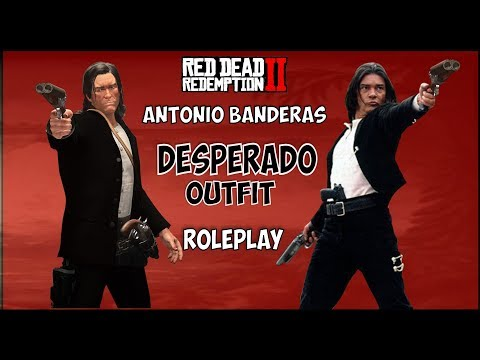 How To Make Antonio Bandera S Desperado Outfit In Red Dead Redemption 2 Youtube