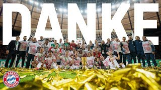 quot;Thank you fansquot;  Kovac Neuer Ribéry amp; Robben thank you for your support