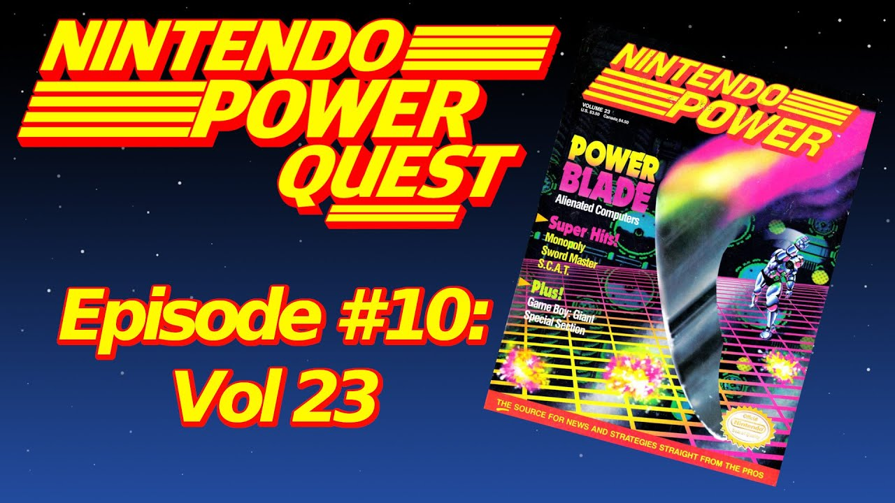 Download NINTENDO POWER QUEST | Episode #10: Vol 23
