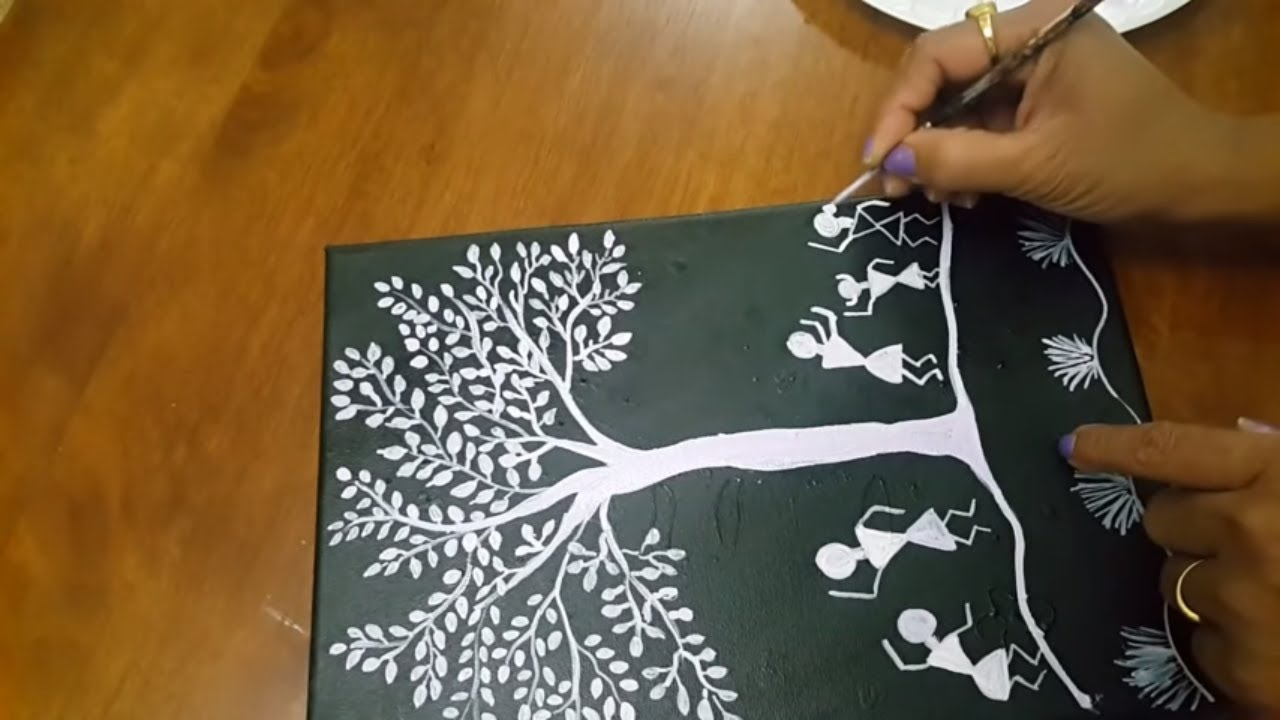 WARLI BASIC PAINTING FOR BEGINNERS GETTING STARTED YouTube