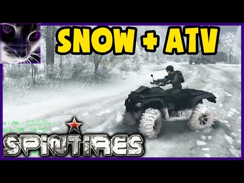 SpinTires SNOW MOD and ATV Testing