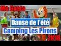 DANSE DE L'ÉTÉ - ME GUSTA - CAMPING LES PIRONS