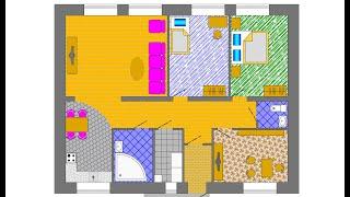 Кирпичный дом. 100 квадратных метров. 3D. Планировка. Смета(, 2017-04-15T10:42:57.000Z)