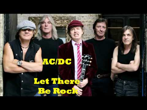 AC/DC - Let There Be Rock (Backing Track)