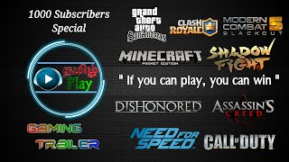 1000 Subscribers special - Gameplay Trailer