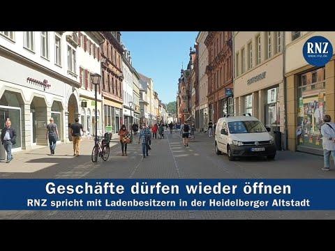 Wiedereröffnung: Das Leben kehrt in die Heidelberger