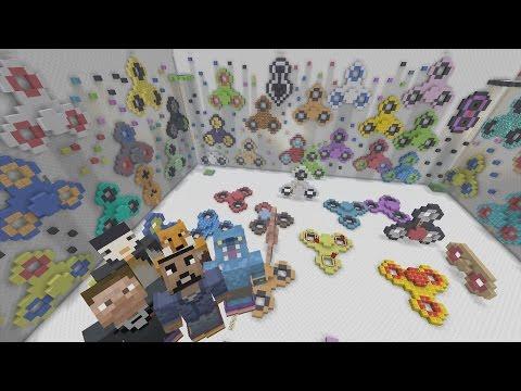 Minecraft XBOX - Hide and Seek - Fidget Spinner