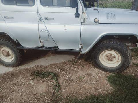 УАЗ 469 продолжение ремонта кузова