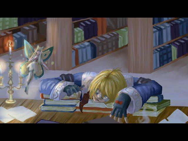 SPEEDART - Fan art de Final Fantasy XIV, Louis en tant qu'Érudit