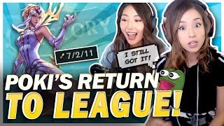 POKI RETURNS TO LEAGUE! Elementalist Lux Mid Lane Ft. xChocobars!