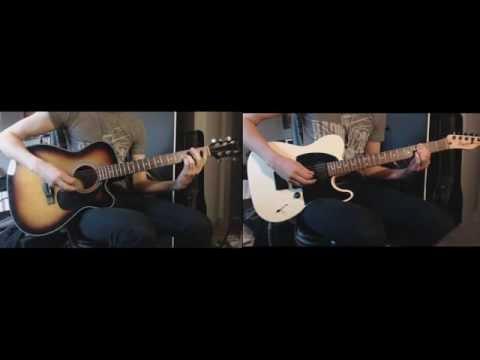 Radiohead - Paranoid Android (Thom + Jonny Guitar Cover HD)