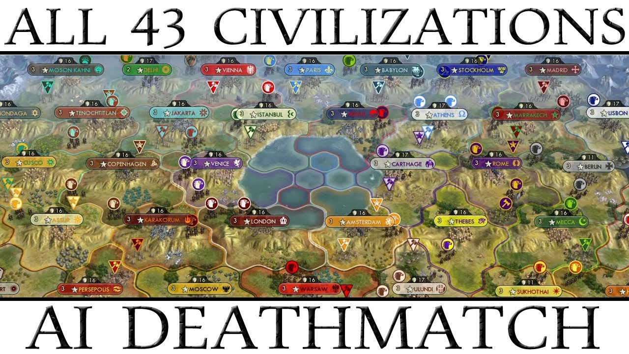 civ 5 how to play 43 civ with