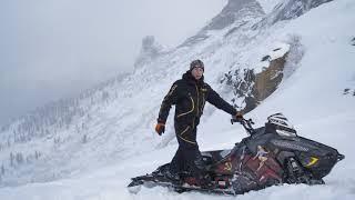 Обучение Управления горным снегоходом 2 от Романа.