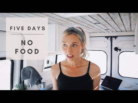 Van Life | Five Days NO FOOD
