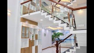 Nhà Bán Gò Vấp l Nhà phố cao cấp Nở Hậu 5.3m đúc 4 lầu đẹp lung linh tại Quang Trung Gò Vấp 6.5 tỷ