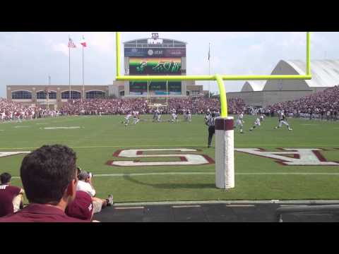 Johnny Manziel (Johnny Football) Amazing Completion Against Alabama