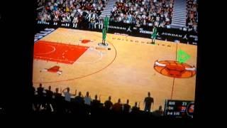 CELTICS @ BULLS NBA 2K11 GAMEPLAY WII
