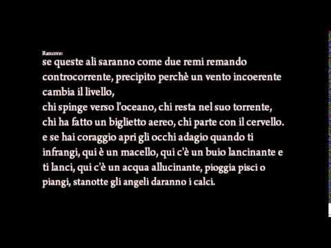 MARRACASH FEAT. DARGEN E RANCORE | L'ALBATRO | (TESTO)
