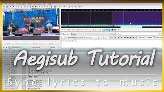 Gambar cover Aegisub Tutorial - Sync lyrics to music🎶CornyHornet9994🎵Aegisub 🇹🇼 Taipei[FHD][99]🆎🍎🏰
