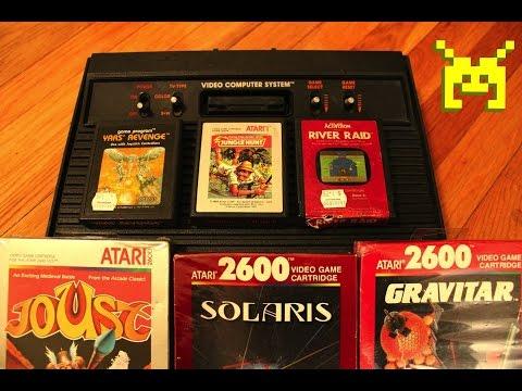 Atari 2600 games rediscovered by Mom!